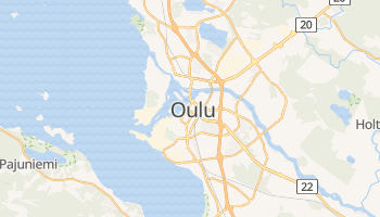Mappa online di Oulu