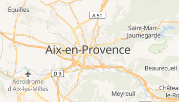 Mappa online di Aix-en-Provence