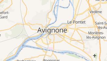 Mappa online di Avignone