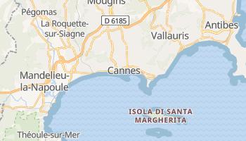 Mappa online di Cannes