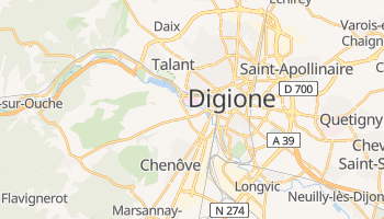 Mappa online di Digione