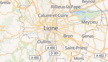Mappa online di Lione
