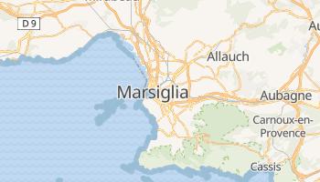 Mappa online di Marsiglia