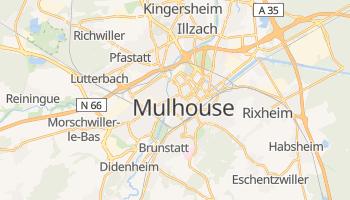 Mappa online di Mulhouse