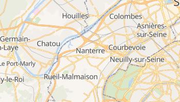 Mappa online di Nanterre