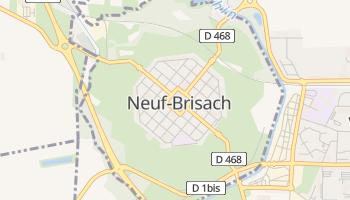 Mappa online di Neuf-Brisach