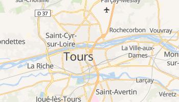 Mappa online di Tours