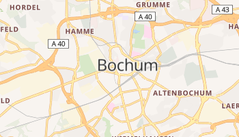 Mappa online di Bochum