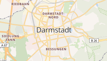 Mappa online di Darmstadt