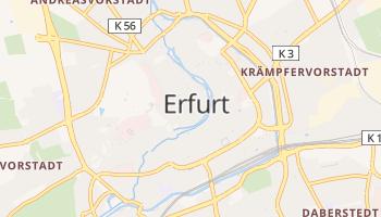 Mappa online di Erfurt