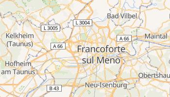 Mappa online di Francoforte sul Meno