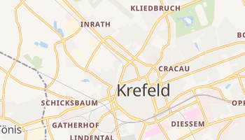 Mappa online di Krefeld