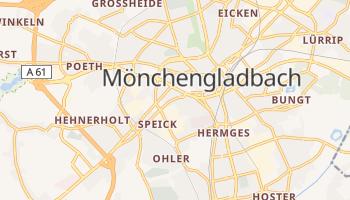 Mappa online di Mönchengladbach