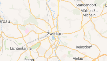 Mappa online di Zwickau