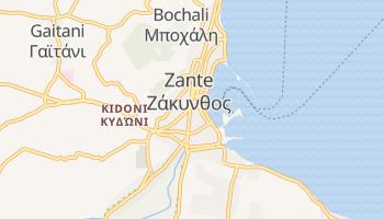 Mappa online di Zante