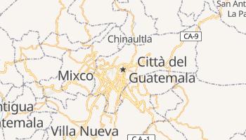 Mappa online di Guatemala