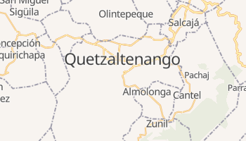 Mappa online di Quetzaltenango