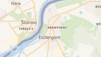Mappa online di Esztergom