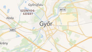 Mappa online di Győr