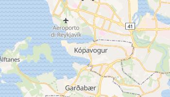 Mappa online di Kópavogur