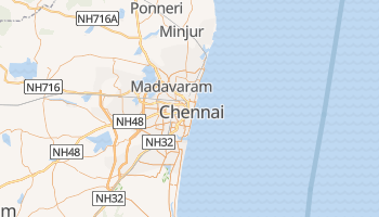 Mappa online di Chennai