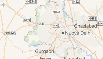 Mappa online di Delhi