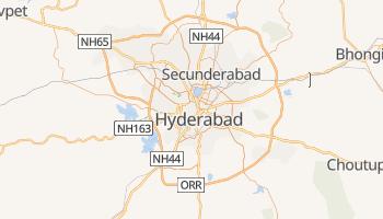 Mappa online di Hyderabad