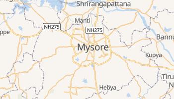 Mappa online di Mysore