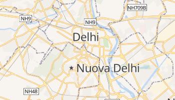 Mappa online di Nuova Delhi