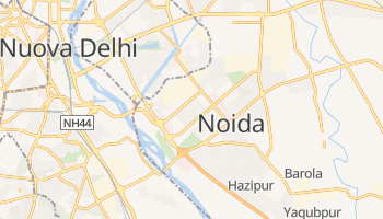 Mappa online di Noida