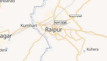 Mappa online di Raipur