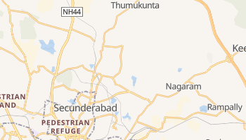 Mappa online di Secunderabad