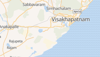 Mappa online di Vishakhapatnam