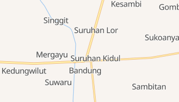 Mappa online di Bandung
