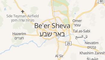 Mappa online di Be'er Sheva