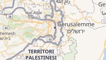 Mappa online di Gerusalemme