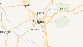 Mappa online di Foligno