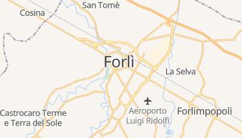 Mappa online di Forlì