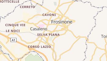 Mappa online di Frosinone
