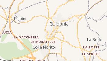 Mappa online di Guidonia Montecelio