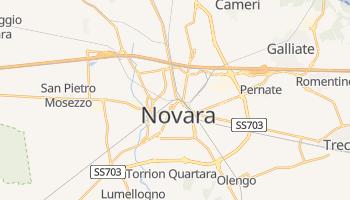 Mappa online di Novara