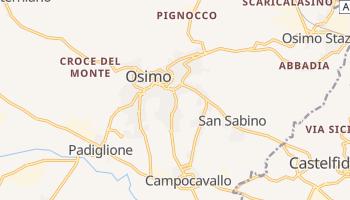Mappa online di Osimo
