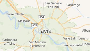 Mappa online di Pavia