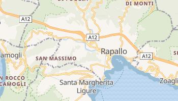 Mappa online di Rapallo