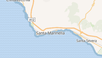 Mappa online di Santa Marinella