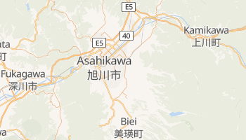 Mappa online di Asahikawa