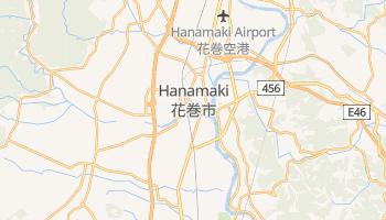 Mappa online di Hanamaki