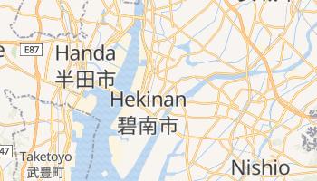 Mappa online di Hekinan