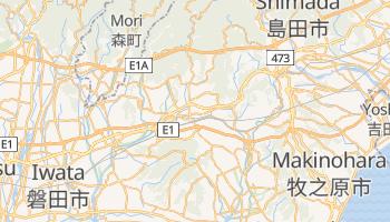 Mappa online di Kakegawa