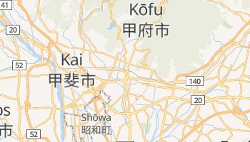 Mappa online di Kōfu